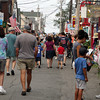 Bearskin Neck was flooded with people on a Monday afternoon. David Le/Gloucester Daily Times.