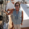 Tom and Kay Ellis, owners of the Schooner Thomas E. Lannan will be leading the Parade of Sail on Sunday as part of the Schooner Festival this weekend. David Le/Gloucester Daily Times