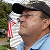 "Tom Dagle, a former mechanic for United Airlines, worked on the 737 aircraft that was Flight 175, the second airplane that was flown into the World Trade Center Buildings and the North Tower on September 11, 2001. Dagle said he used to go outside on his porch for a cigarette every afternoon and watch as the afternoon international flights flew over Cape Ann and into Logan Airport, but in the days following the events of September 11th, there were no flights and the skies were ""so quiet."" David Le/Gloucester Daily Times."
