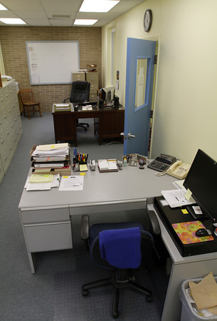 An office space in the new Town Hall Annex in Rockport which is located next to Town Hall in the old Granite Savings Bank building. David Le/Gloucester Daily Times