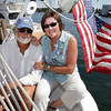 Tom and Kay Ellis, owners of the Schooner Thomas E. Lannan will be participating in the Schooner Festival this weekend and will be leading the Parade of Sail on Sunday morning. David Le/Gloucester Daily Times