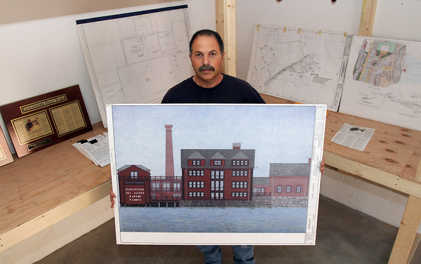 Local contracter Tony Giacalone tried to renovate the Old Paint Factory 8 years ago and was met with strong opposition. David Le/Gloucester Daily Times