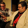 "Jim Vaiknoras/Gloucester Times: Larry Cook as Max and Rick Doucette as Tito Merelli, Courtney Put in the Theatre in the Pines celebrates its 25th Anniversary Season production of "" Lend Me a Tenor"" ar Shalin Liu Performance Center in Rockport."