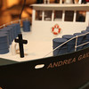 ALLEGRA BOVERMAN/Gloucester Daily Times Details of the replica Paul Gran built of the Andrea Gail that is on view at the Cape Ann Museum.