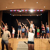 ANGIE BEAULIEU/Staff photo. Actors perform a song during a rehearsal at the O'Maley Musical Theater Camp. 08/21/13