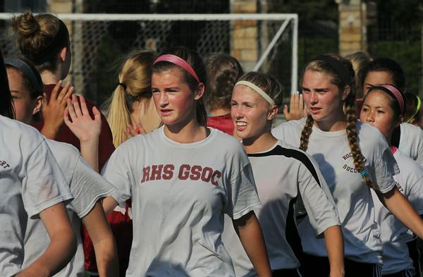 Gloucester vs. Rockport Girls Soccer Scrimmage