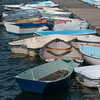 DESI SMITH/Staff photo.   A cluster of skiffs are tied to the docks and each other at Tucks Point in Manchester Thursday afternoon, as the end of summer comes to an end .    August 28,2014