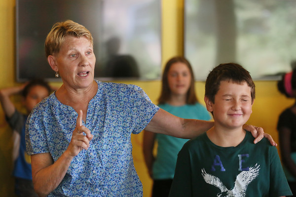 Lindsay Crouse Teaches at Youth Acting Workshop