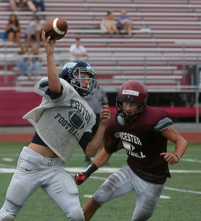 Gloucester vs. Triton Football Scrimmage
