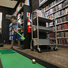 Golf in the Library