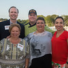 Desi Smith Photo.  Front left to right, Honory  Dr.Angela Sanfilippo, Mayor Sefatia Romeo Theken and Daniela Snopkowski. Back, J J Bartlett, President of Fishing Partnership and Chef Todd Snopkowski of Snap Chef, pose for a photo at the Sea to Supper Celebration and fundraiser held on August 24,2017 at Mile Marker One Restaurant & Bar at Cape Ann's Marina Resort.