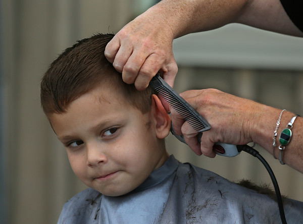 School Haircut