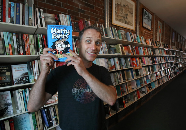 Author and Cartoonist Mark Parisi