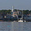 MIKE SPRINGER/Staff photo<br /> Rockport from the water.<br /> 8/8/2018