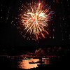 Gloucester: Boats fill the harbor to veiw the Fireworks Saturday night.  Desi Smith/Gloucester Daily Times. September1, 2012