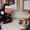 Rockport Police Serve Holiday Lunch