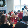 SAM GORESH/Staff photo. The crowd applauds after Gloucester mayor Sefatia Romeo Theken speaks at the Discover Gloucester Awards at the Cruiseport Gloucester ballroom. 12/5/16