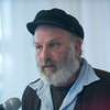SAM GORESH/Staff photo. Harold Burnham of Schooner Ardelle speaks to the crowd after being honored with the Maritime Heritage Awardat the Discover Gloucester Awards at the Cruiseport Gloucester ballroom. 12/5/16