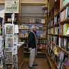 SAM GORESH/Staff photo. Brad Currier of Gloucester visits the Toad Hall bookstore in Rockport for the first time in 25 years. He said he had grown up in Rockport and decided to visit some shops after putting flowers on his mother's grave in the cemetery. 12/8/16