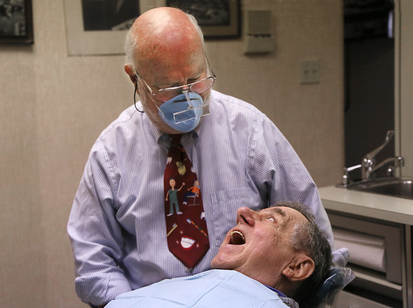 Dentist Russell Sandfield Retires