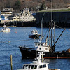 TIM JEAN/Staff photo<br /> <br /> The Paulo Marc fishing vesel returns to Gloucester's Inner Harbor on Tuesday afternoon.  12/4/18