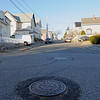 TIM JEAN/Staff photo<br /> <br /> Looking up-hill from the intersection of Trask and Warner Street in Gloucester. Work is expecteted to begin in the spring on a major sewer project on Trask, Shepherd, Warner, Millett and Sargent Streets. 12/12/18