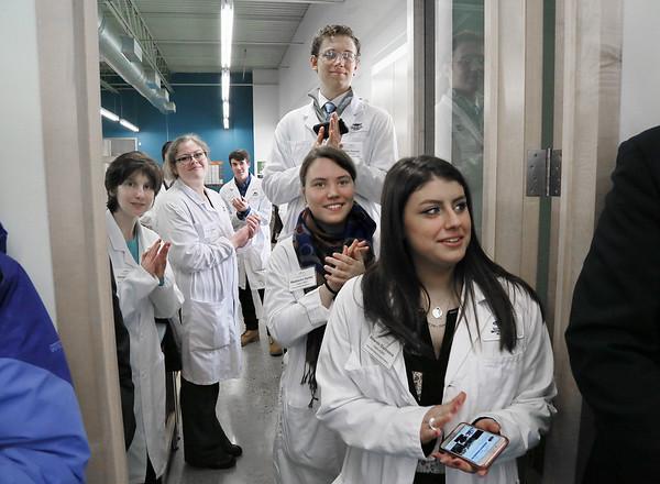 Governor Baker Visits Gloucester Biotechnology Academy