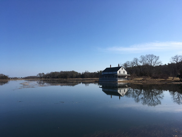 ANDREA HOLBROOK/Staff photo/The House on the Marsh off Eastern Avenue in Essex the morning of March 1, 2018.