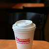 MIKE SPRINGER/Staff photo<br /> The familiar Dunkin' Donuts styrofoam cup will soon be banned in Gloucester.<br /> 2/9/2018