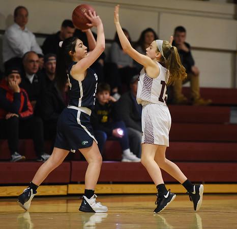 Rockport Vs Essex Tech. girls basketball.