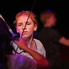 """MIKE SPRINGER/Staff photo<br /> Fourteen-year-old Sarah VanDerpool of Rockport learns the art of dramatic sword fighting Friday at the Gloucester Stage Company's Youth Acting Workshops. The current Gloucester Stage production, """"Cyrano,"""" features sword fighting.<br /> 7/20/2018"""