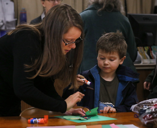 'Crafternoon' at the Library