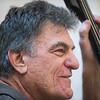 Dave Saginaro plays bass with the Good Old Salty Jazz Band at the Rose Baker Senior Center. 1/9/17