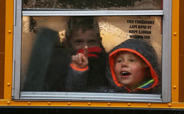 Rainy Return to School