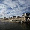 MIKE SPRINGER/Staff photo<br /> The seawall at Long Beach in Rockport.<br /> 01/24/2018