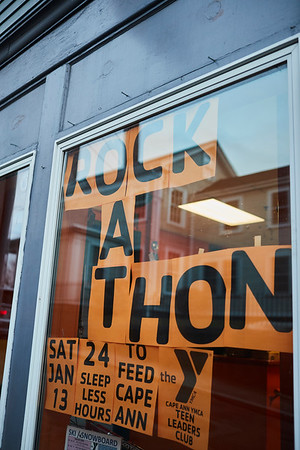 21st Annual Rock-A-Thon to help feed those in need at the Teen Center in Gloucester, Saturday, January 13, 2018. Jared Charney / Photo