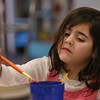 "MIKE SPRINGER/Staff photo<br /> Five-year-old Emmy Philbrook dips her brush in water during an after-school painting class Thursday at Cape Ann Art Haven in downtown Gloucester. Art Haven offers a variety of after-school art courses. For more information go to  <a href=""http://www.arthaven.org"">http://www.arthaven.org</a>.<br /> 01/18/2018"