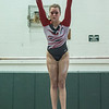 AMANDA SABGA/Staff photo<br /> <br /> Gloucester High School's Riley Turner on the bars during a gymnastics meet at Essex Technical School. <br /> <br /> 1/30/19
