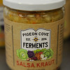 TIM JEAN/Staff photo<br /> <br /> Salsa Fraut Sauerkraut made by Pigeon Cove Ferments.   1/29/19