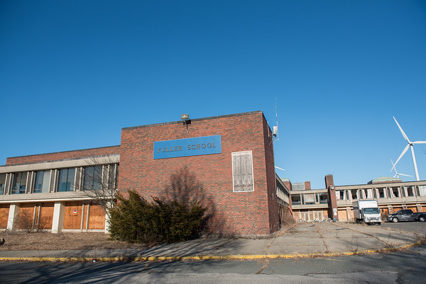 AMANDA SABGA/Staff photo<br /> <br /> The former Milton L Fuller Elementary School in Gloucester. <br /> <br /> 1/30/19