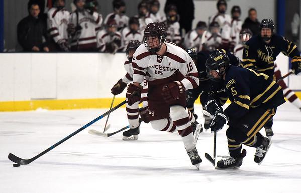 Winthrop vs Gloucester boys hockey