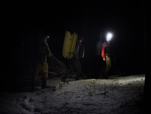 Night Bouldering