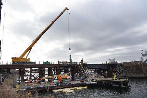MBTA Train Bridge