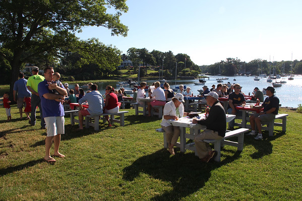 The annual Red, White and Blue annual pancake breakfast took place Saturday at Tuck's Point.