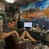 Artist Jon Sarkin