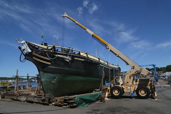 Friendship of Salem in Dry Dock