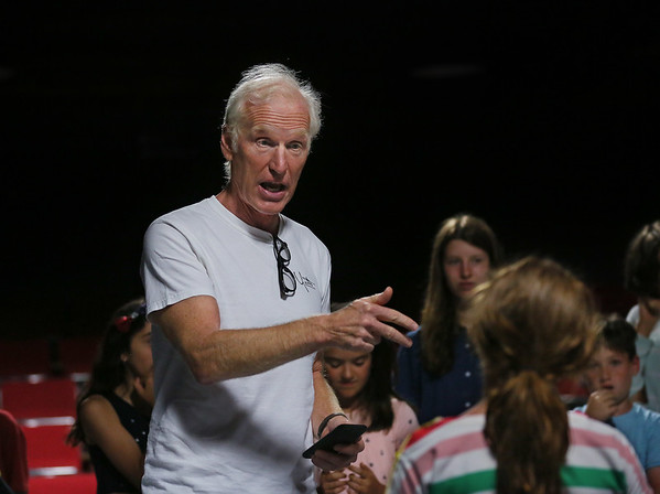 Brad Hall Teaches at Youth Acting Workshop