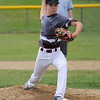 TIM JEAN/Staff photo<br /> Gloucester's Jarred Lucido throws a pitch against Beverly during the District 15 Williamsport Little League Baseball Tournament game. Gloucester defeated Beverly 10-8. 7/1/17