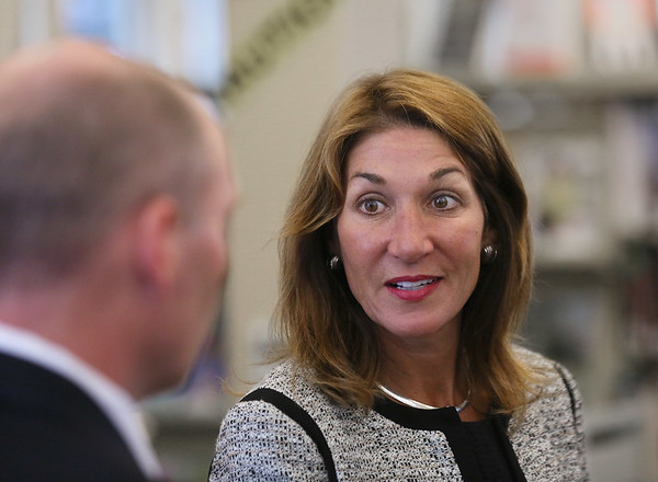 Lt. Gov. Karyn Polito Visits Essex Town Hall