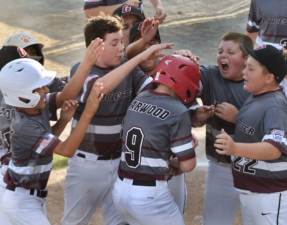 Gloucester defeated North Andover 4-2 in Section Four Little League Tournament on Friday.